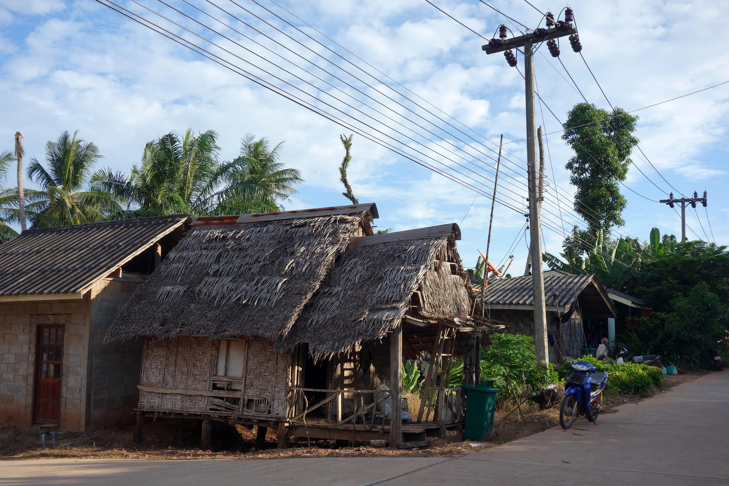 Wioska Ko Siboya - wyspa Koh Jum, Tajlandia