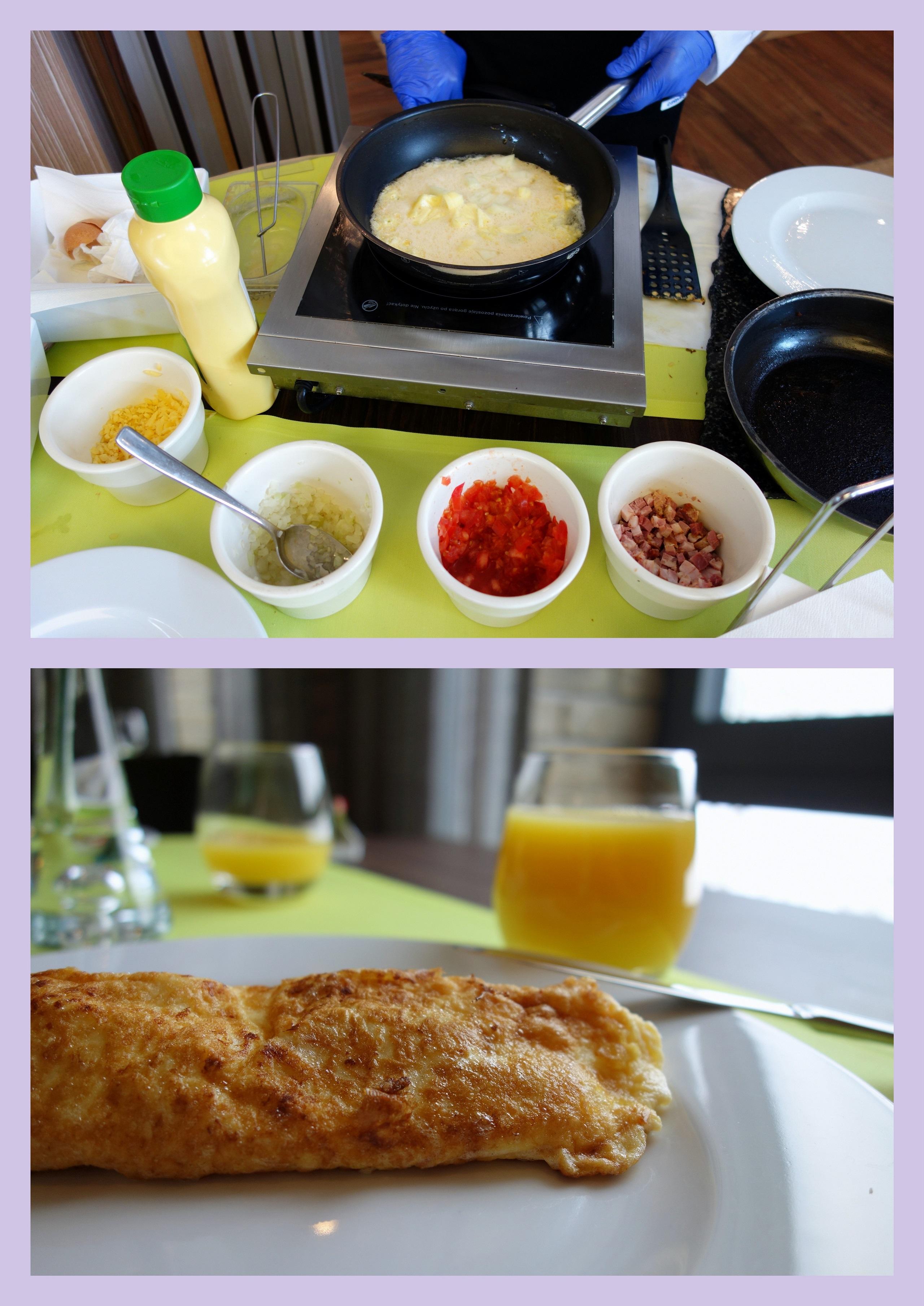 Hotel Loft 1898, Suwałki - śniadanie w formie bufetu