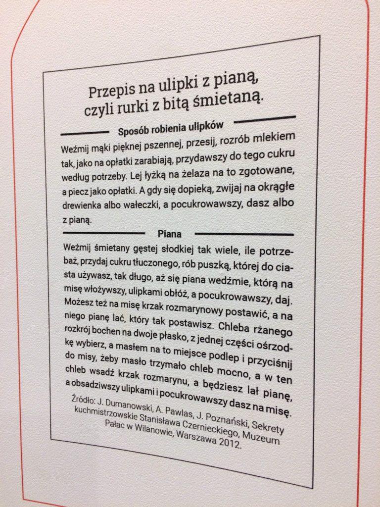 Przepis na rurki z bitą śmietaną - Muzeum Mleka