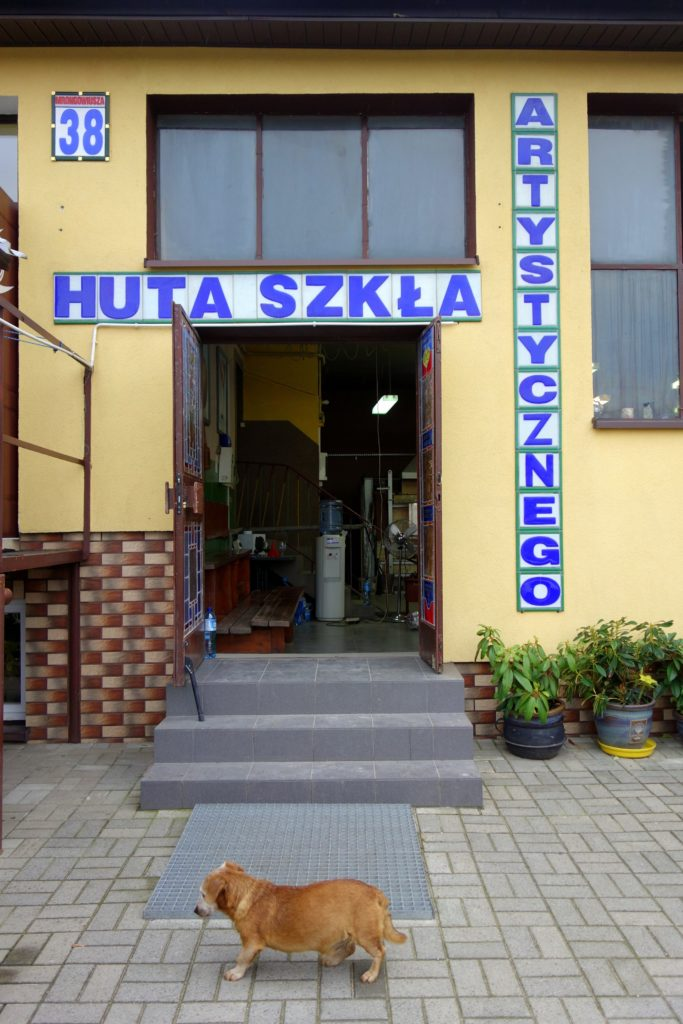 Huta Szkła Artystycznego - ul. Mrongowiusza 38, Olsztynek