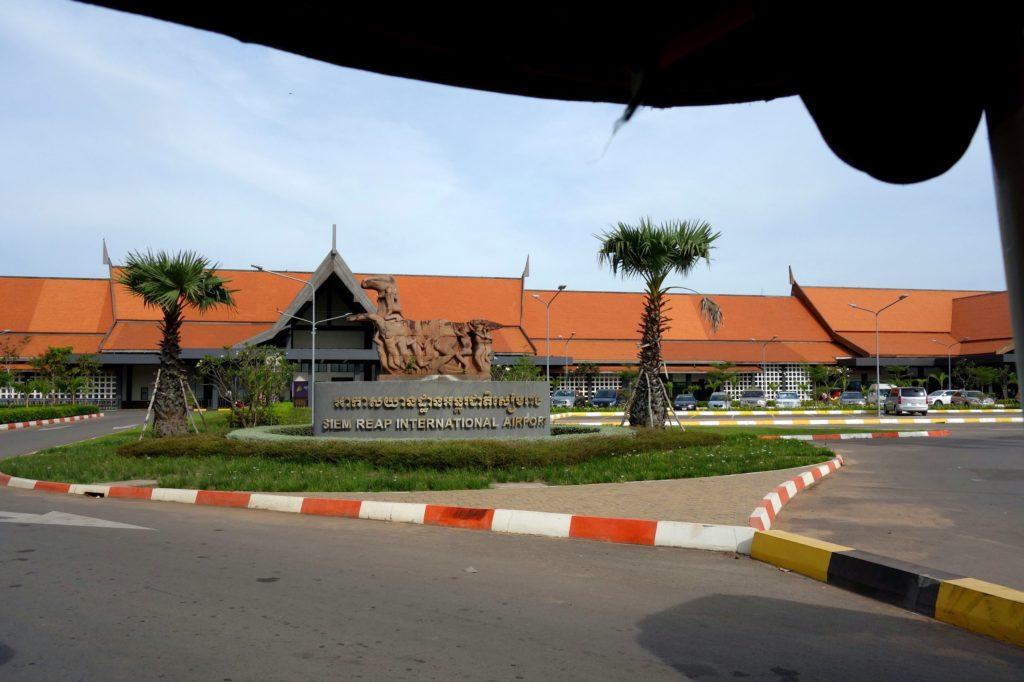 Lotnisko w Siem Reap - Kambodża