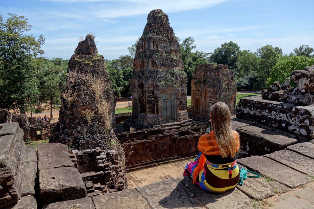 Świątynia Pre Rup - moje ulubione miejsce w Angkorze