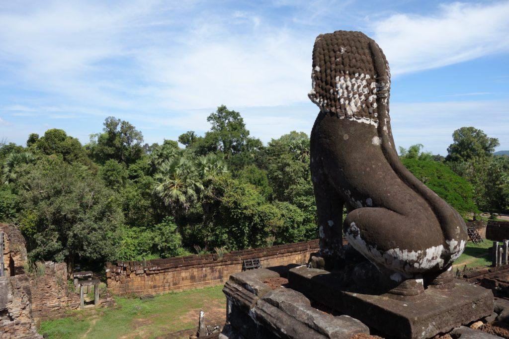 Detale świątyni w Kambodży - Angkor