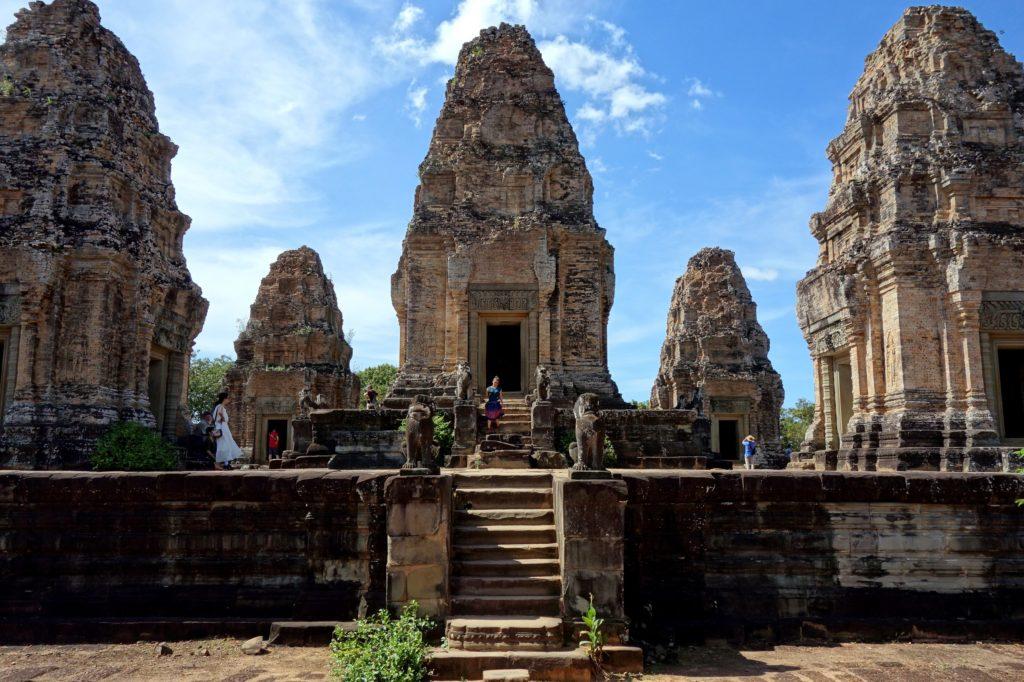 Świątynia East Mebon - Angkor, Kambodża