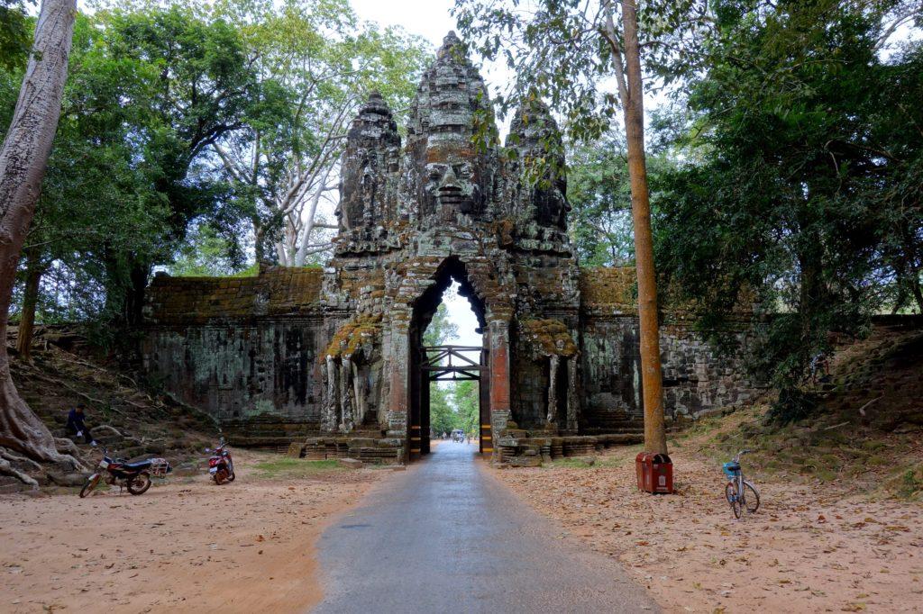 Brama Północna, Angkor Thom - Kambodża