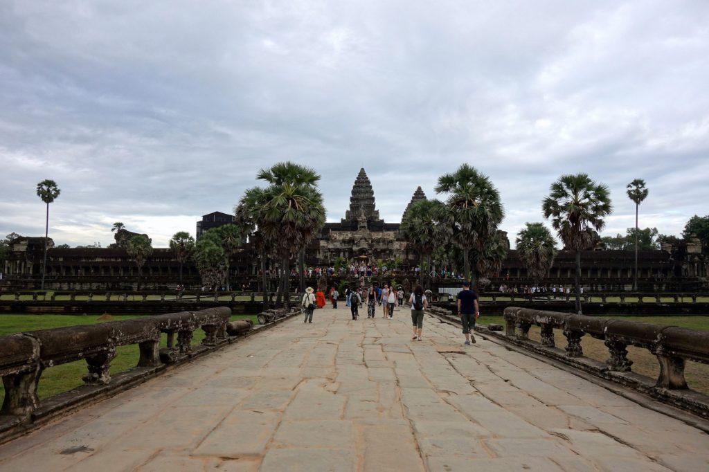Angkor Wat - główna świątynia Angkoru, Kambodża