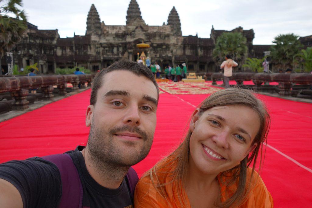 Prawdziwe szczęście w Kambodży!