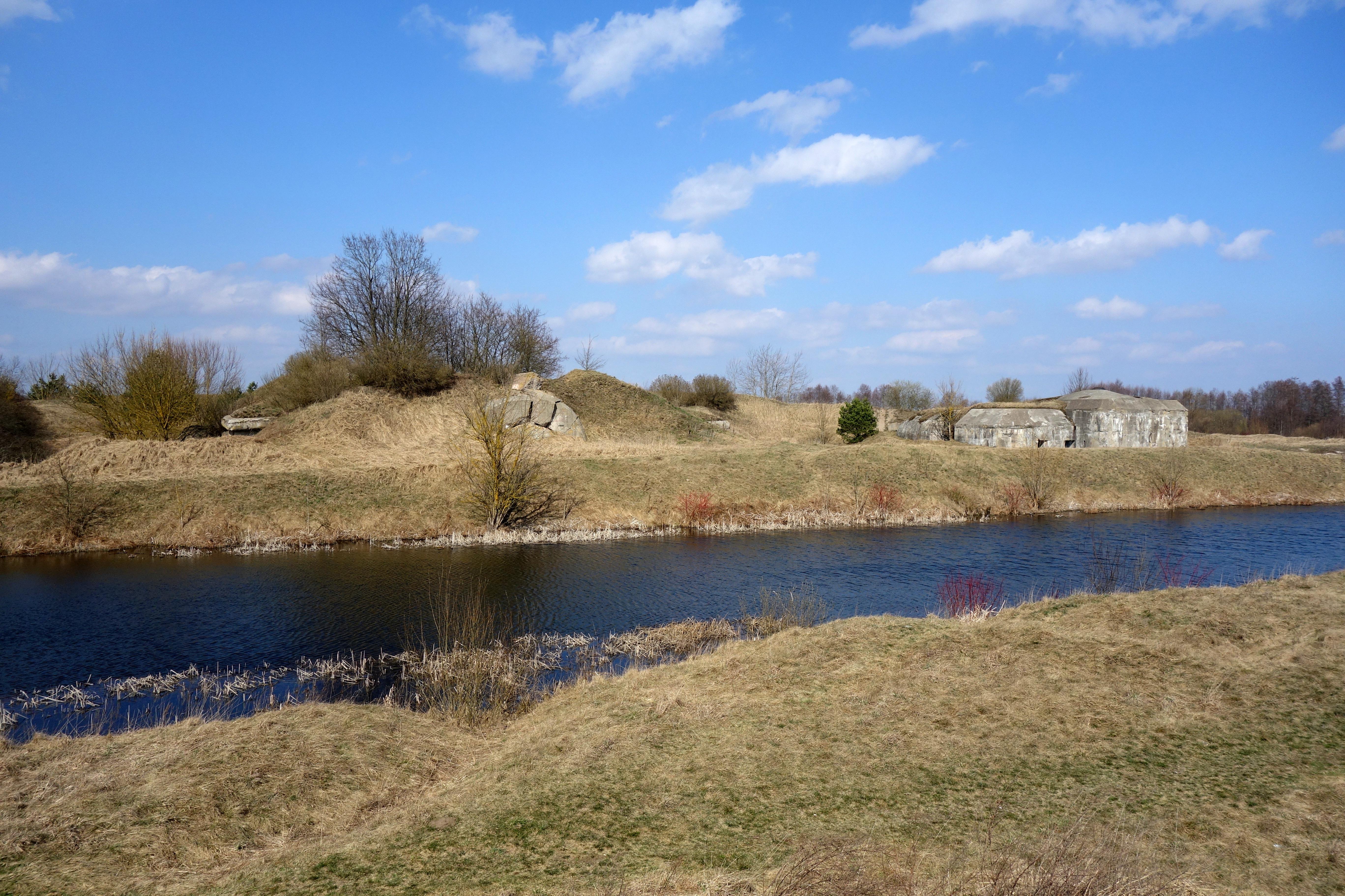 Obiekty militarne Fortu II Twierdzy Osowiec - Biebrzański Park Narodowy