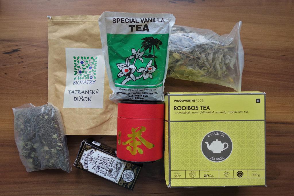 Herbaty z całego świata - z Seszeli, Tajwanu, Słowacji, Jordanii, Indonezji...